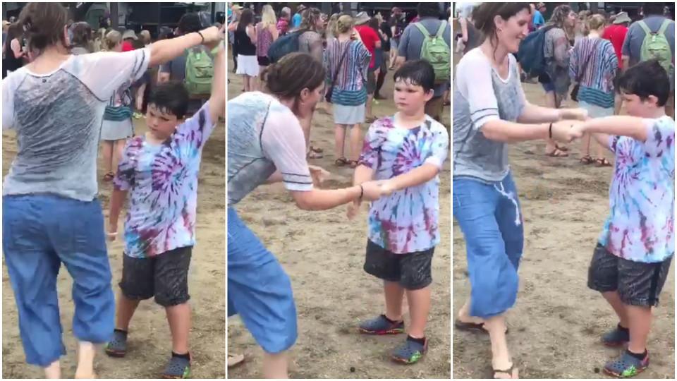 Mamma försöker son kön