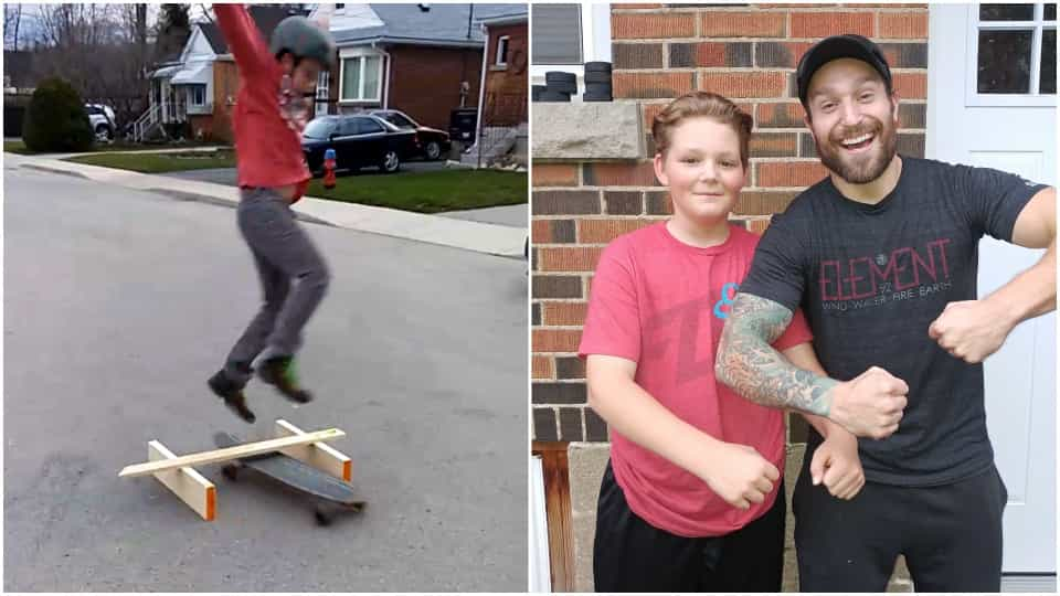 46d879a25 Salto de skate termina em queda dolorosa no Canadá - Buzz Videos - Your  Viral videos website!